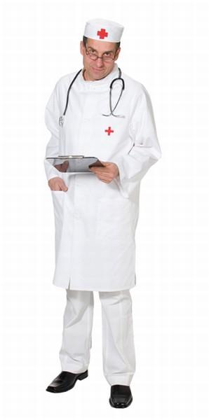 Arzt Chirurg Arztkittel Hausarzt Chefarzt Herrenkostum Fasching
