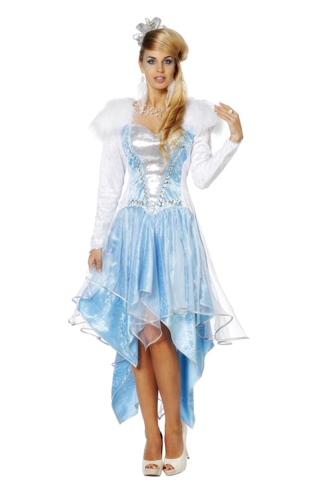 Eiskonigin Eisprinzessin Frozen Kleid Von 34 Bis Ubergrosse 48 Plussize