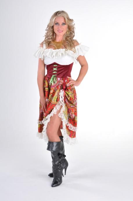 Faschingskostum Zigeunerin Xxl Damenkostum Karnevalsparty