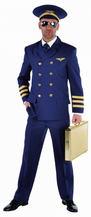 pilot piloten kost m anzug uniform bergr e xxl. Black Bedroom Furniture Sets. Home Design Ideas